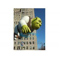 Cheap Classical Shrek Shaped Big Advertising Balloons Helium Filling for sale