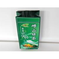 Laminated Heat Seal Tea Packaging Bag Side Gusset Pouch Gravure Printing