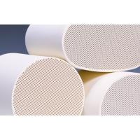 Best Cordierite Diesel Particulate Filter , White Ceramic Substrate wholesale
