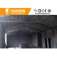 Quality High rise concrete / steel structure insulated building panels Heat Resistance wholesale