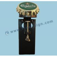 Quality Personalized Bar Bottle Opener And Cap Catcher For Beer Coaster Holder wholesale