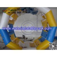 Quality Cylinder Inflatable Water Roller Ball , Inflatable Fun Roller Water Games wholesale