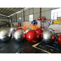 Quality Funny Inflatable Disco Decorate Balloon With Reflect Effect , 0.18mm Helium PVC wholesale