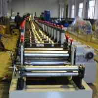 Best 1.2 - 2.0mm Galvanized Steel Racking Beam Cold Roll Forming Machine 20 Roller Stations wholesale
