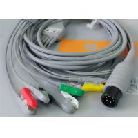 Quality 5 Leads Ecg Snap Medical Cable , Medical Equipment / Medical Device Accessories wholesale