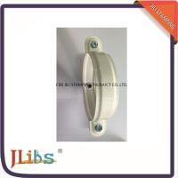 Best Galvanised Steel Lighter Cast Iron Pipe Clamps With White Coating wholesale