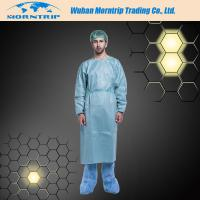 Disposable Non-woven Blue Dustproof Isolation Gown Surgical Gown Lab Coat