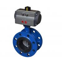 Quality Blue DA-160 Pneumatic Rotary Actuator Double Acting Rack And Pinion Design wholesale
