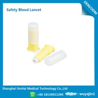 Quality Convenient Disposable Blood Lancet Medical Tool With CE / ISO Certification wholesale