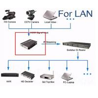 Cheap High Definition Digital TV Encoder Wireless HDMI Input With LAN / WAN Transmittion for sale