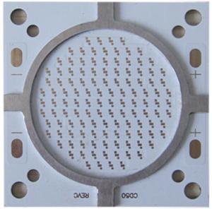 High Power Street Light Single Sided PCB Board Aluminum Base 2 Oz  1 W 2 W 3 W 5 W LEDs