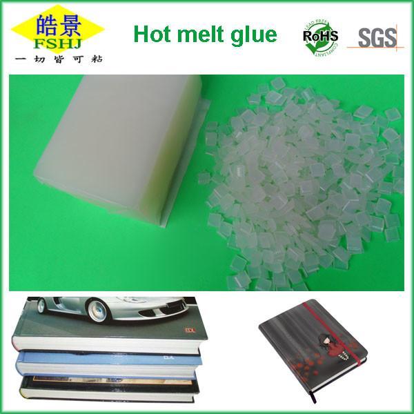 Cheap Art Coated Paper Bookbinding Hot Melt Glue Transparent Spine Glue Granule for sale