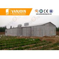 Quality Prefab House 100mm EPS Foam Sandwich Wall Panels With Sound Insulation wholesale