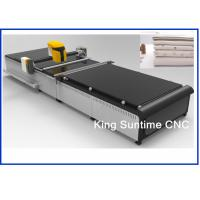 Intuitive Touch Technology Automatic Fabric Cutter Machine Double Gear Derogatory Method