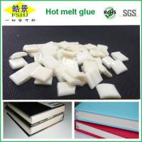 Quality EVA Milky White Bookbinding Hot Melt Glue High Stickiness For Note Bookbinding wholesale