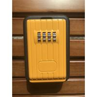 Quality Digital Combination Outdoor Door Key Safe Box Black & Yellow wholesale