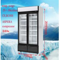 Cheap Customize Commercial Display Freezer For Restaurant / Supermarket for sale