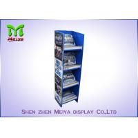 Quality Customized Pop Up Cardboard Floor Display Stands Environment Friendly wholesale