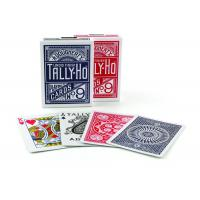 Quality Tally-Ho Marked Playing Cards Plastic Invisible Ink Poker Cheating Cards wholesale