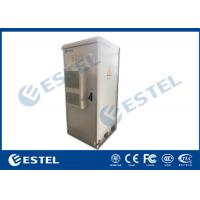 "Quality 19"" 40U IP55 Outdoor Telecom Enclosure, with Air Conditioner, EMS and PDU wholesale"