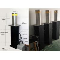 Best Full Automatic Steel Rising Removable Bollards Systems For Building Security wholesale