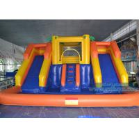 Quality Rental Giant Backyard Inflatable Water Slide With Pool Foe Business wholesale