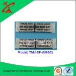 Best OEM Black Soft Eas Security Labels / Magnetic Anti Theft Tags 58khz wholesale