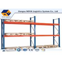 Quality Corrosion Protection Pallet Warehouse Racking With Free Post Base Plate wholesale