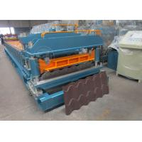 Quality Cr12 Mould Steel Cutter Roof Tile Roll Forming Machine 5.5KW ISO9001 wholesale