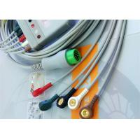 Quality 12 Pin 5 Leads One Piece ECG Cable Monitor Connector Cable Compatible Mindray wholesale
