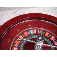 High Quality 20Inch Casino Wood Roulette Wheel(Single zero)