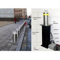 Best LED Light Full Automatic Retractable Bollards Remote Control Bollards 304 Stainless Steel wholesale