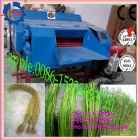 Best Good Quality with better Price of Dried Hemp Fiber Extracting Machine wholesale