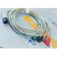 Quality M&B 6 Pin Snap AHA ECG Patient Cable For Medical Equipment , Electrode Lead Wires wholesale