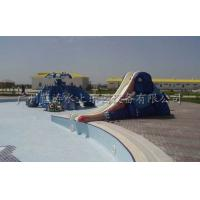 Quality Fiberglass Small Water Slide Elephant Style Water Park Slides For 3 - 12 Years wholesale