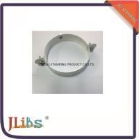 Best Galvanized Metal Supporting Round Clamp Down Pipe Clamps Riveted Fixed Screw wholesale