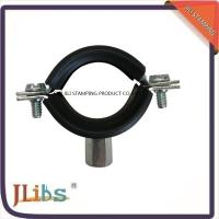 Quality Zinc Plating Cast Iron Pipe Mounting Clamps , Black Iron Pipe Hangers wholesale