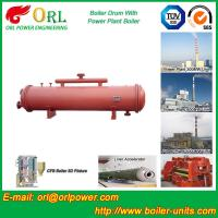 Quality Single Gas Boiler Mud Drum Natural Circulation For Textile Industry wholesale