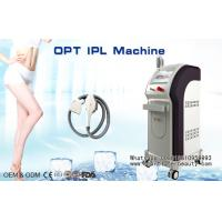 Quality Painless OPT SHR IPL Hair Removal Machine / IPL Laser Beauty Equipment wholesale