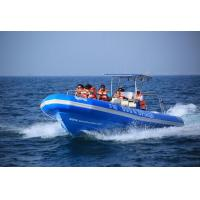 Best Orca Hypalon inflatable rib boat rib960C with passengers seats for ferrying wholesale