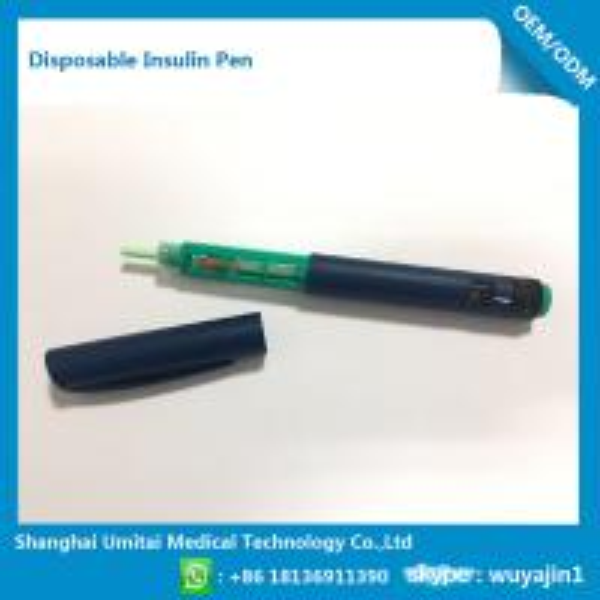 Cheap Prefilled Disposable Insulin Pen / Prefilled Insulin Syringes For Diabetes for sale