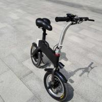 Quality CE FCC Certification 36v 400w Folding Electric Bicycle , Fold Up Electric Bike wholesale