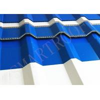 Cheap Water Resistance 10mm Plastic Sheet Roof With Heat Preservation , Hard To Break for sale
