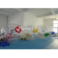 Quality Customized Inflatable Zorb Ball For Wonderful Color With PVC/TPU Material wholesale