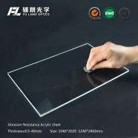 Quality Robot partitions with abrasion resistant acrylic sheet for aluminum extrusion wholesale