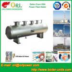 Quality Single Drum Type Boiler High Corrosion LPG Steam Boiler Unit , Mud Drum wholesale