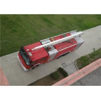 Max Power 320KW Water Tower Fire Truck 20m Working Height With Mechanical Seal