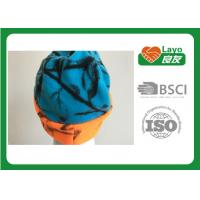Buy cheap Osfa Outdoor Winter Fleece Hats For Women / Men Blaze Orange Blue Color from wholesalers