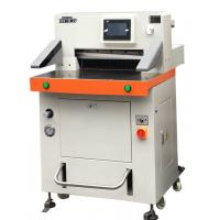 DB-520V8 Programmed Hydraulic Paper Cutting Machine 520mm With Touch Screen