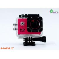 Quality Muti Color Waterproof 1080P HD Action Camera SJ4000 30M Mini For Extreme Sport wholesale